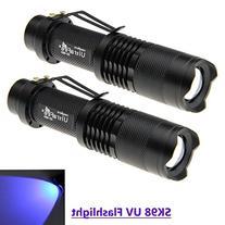 UltraFire SK98 UV Flashlight - The Original 100 Lumen Ultra