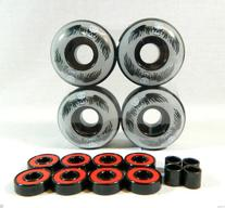 Big Boy 52mm x 31mm Pro Skateboard Wheels  + ABEC 7 Bearings