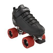 Riedell Skates Dart Roller Skate,Black,6