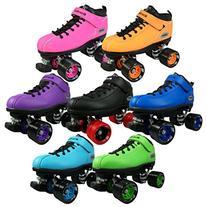 Riedell Skates Dart Roller Skate,Purple, Mens 5 / Ladies 6