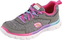 Skechers Kids 81885L Skech Appeal Flawless Sneaker,Gray/Pink