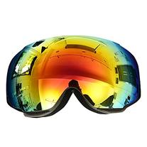 OutdoorMaster Ski Goggles PRO - Frameless, Interchangeable