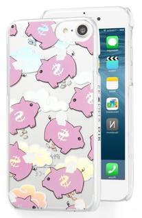 Skinny Dip Flying Pig Iphone 7 Case - Pink