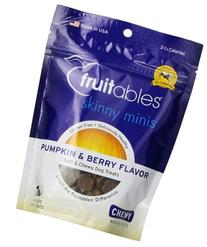 Fruitables Skinny Minis Dog Treat Yam/Berry