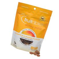 Fruitables Skinny Minis Pumpkin & Mango Soft & Chewy Dog