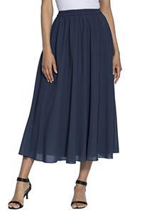 Roamans Women's Plus Size Skirt Separate Navy,16 W