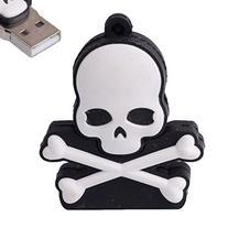 LHN® 8GB Skull and Cross Bones Ghost USB 2.0 Flash Drive