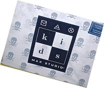Max Studio Kids Skull and Crossbones Full Size Sheet Set