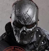 Captain Skull Tactical Airsoft/BB Gun/CS Full Face Protect