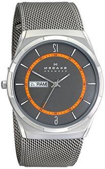 Skagen Men's SKW6007 Melbye Grey Titanium Mesh Watch