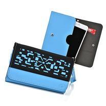 Kroo® Sky 5.0Q 5.0L 5.0S 5.0W Case | Sky Blue/Black