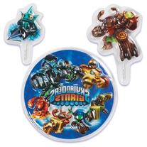 Skylanders Cake Decorating / Topper Set / 3 pcs by Bakery