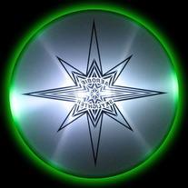 Aerobie Skylighter L.E.D. Lighted Flying Disc