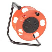 Bayco SL-2000PDQ Cord Storage Reel with 4 Outlets and