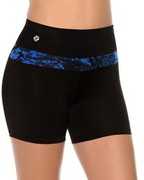 SL Women's Compression Athletic Shorts Running Gym Workout