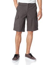 Fox Men's Slambozo Cargo Solid Short, Charcoal, 36