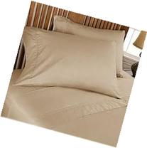 Full Sleeper Sofa Bed Sheet Set Taupe 500 Thread Count