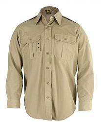 Propper Long Sleeve Tactical Shirt, 65/35 Poly/Cotton Battle