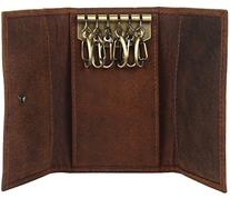 Slim Compact Key Holder Wallet Key Pouch Leather gift