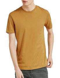 Topman Slim Fit T-Shirt-DARK BROWN-Medium