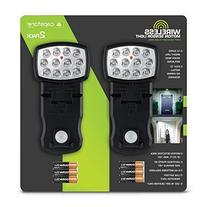 2 Pack Slim Wireless Motion Sensor Light