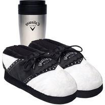 Callaway Golf Slippers and Travel Mug Gift Set