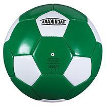 Tachikara SM4SC dual colored soft PU soccer ball, size 4