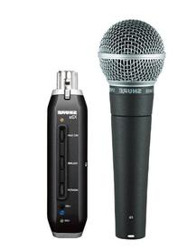Shure SM58-X2U Cardioid Dynamic Microphone with X2U XLR-to-