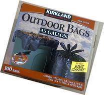 Kirkland Signature Smart Closure Outdoor Lawn Trash Bags -
