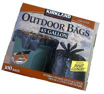 Kirkland Signature Smart Closure Outdoor Lawn 45 gallon