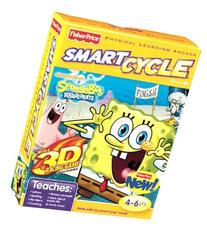 Fisher-Price SMART CYCLE 3D Software - Nickelodeon SpongeBob