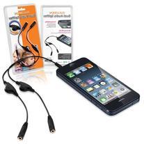 Dausen Smart Headphone Splitter with Separate Volume Control