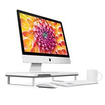 Satechi F3 Smart Monitor Stand with Four USB 3.0 Ports and