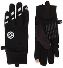 Zensah Smart Running Gloves with Touch Screen Feature, Black