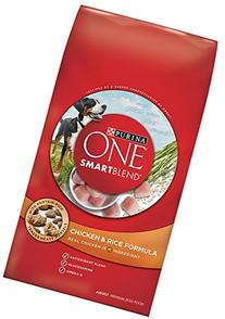 Purina ONE SmartBlend Dry Dog Food, Chicken & Rice Formula,