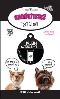 Platinum Pets The Original Smartphone Cat ID Tag with GPS,