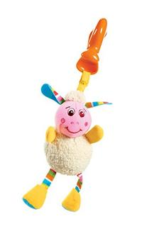 Tiny Love Smarts Clip on Toy, Lilly Lamb