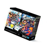 Smash Splat Deluxe Set Console for Nintendo Wii U - Black