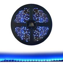HitLights LED Light Strip - Blue SMD 3528 - 300 LEDs, 16.4