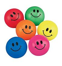 Fun Express Smile Face Bouncing Balls