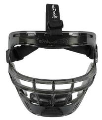 Game Face Medium Smoke Sports Safety Mask with Black T-