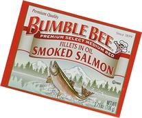 Bumble Bee Smoked Salmon Fillets in Oil 3.75oz can