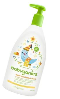 BabyGanics Smooth Moves Night Time Baby Lotion - Natural