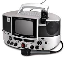 Singing Machine SMVG-620 CD+G Karaoke System with Camera and