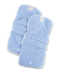 Trend Lab 2 Pack Snap In Liners for Cloth Diapers, Blue