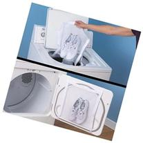 Sneaker All-in-1 Wash/Dryer bag combo White polyester