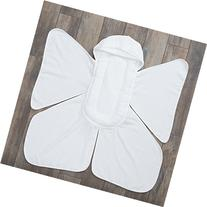 NEW! Snow Angel Luxury Hooded Baby Towel with Cushioned Back