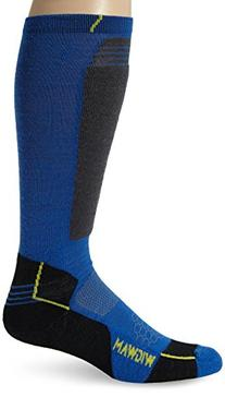 Women's Snow Hellion Pro Ultimax Ski Sock, Azure Blue,