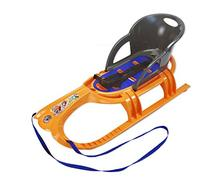 Eurosled Snow Tiger Baby Sled with Seat and Handle, Sunspot