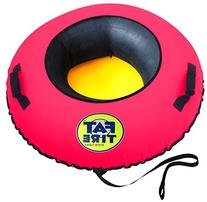 Fat Tire Snow Tube - Neon Pink